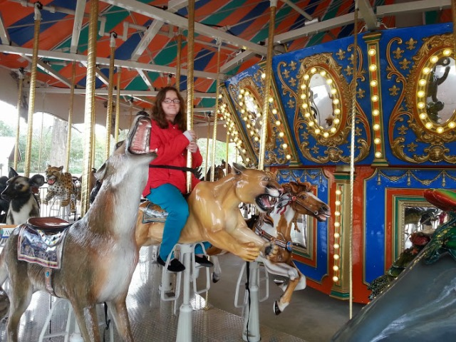 Eve on Carousel