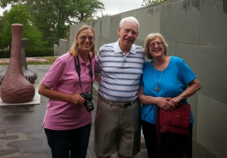 Carole, Steve and me  48 years later