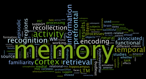 memory-word-cloud